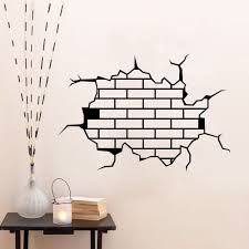 removable 3d funny wall stickers room mural decals diy home