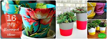 Flower Pot Arrangements For The Patio 16 Creative Diy Flowerpot Ideas