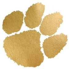 magnolia scout gold foil tiger paw temporary tattoos from