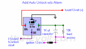 car security and convenience power door locks multiple wire
