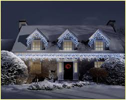 White Icicle Lights Outdoor Icicle Lights Home Design Ideas