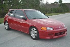 honda hatchback 1993 hatchback civic for sale in central fl fl all original