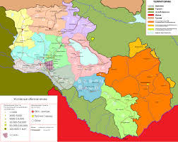 Map Of Armenia De Facto States In Question Maps
