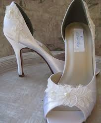 white lace wedding shoes wedding shoes ivory or white lace bridal shoes