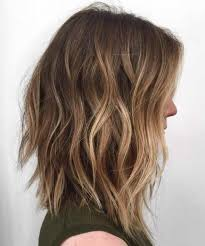 images front and back choppy med lengh hairstyles best balayage hair color ideas 70 flattering styles for 2018 long