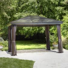 Portable Gazebo Walmart by Shop Gazebos At Lowes Com