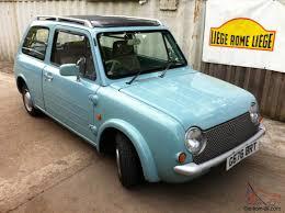 classic nissan nissan pao sheer genius retro classic micro car rare in u k