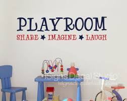 Wall Decals Kids Rooms by Playroom Wall Decals Etsy