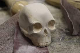 Free 3d Wood Carving Patterns For Beginners by Wooden Carved Skull 9 Steps With Pictures