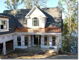 Awning Roofing Copper Porch Awning Copper Front Porch Awnings The Classic Copper