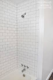 Tile A Bathtub Surround Tiling Our Shower Beautiful Matters