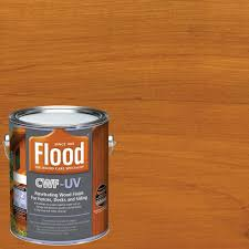 flood 1 gal cedar tone cwf uv oil based exterior wood finish