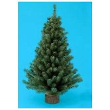 miniature 12 inch artificial pine tree with 125 tips and