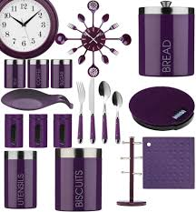 purple kitchen appliances kitchen decoration