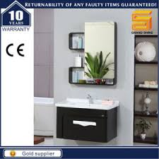 china high quality mdf wall mounted bathroom cabinet sanitary ware
