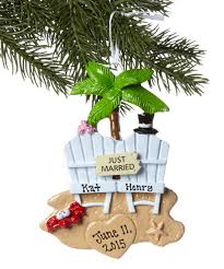 hand written personalized holiday and christmas ornaments
