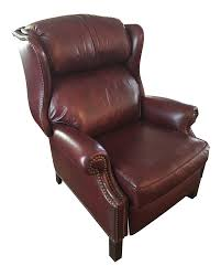 Hancock And Moore Leather Chair Prices Hancock U0026 Moore Addison Bustle Back Ball U0026 Claw Recliner In Red