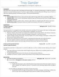 It Support Resume Resume U2013 Troy Gansler