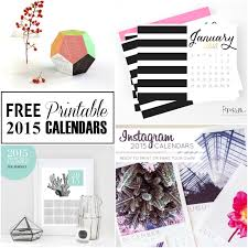 printable calendar year 2015 20 free printable calendars to ring in the new year