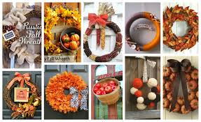 thanksgiving wreaths diy diy fall wreaths that are just perfect for your front door