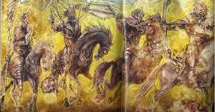 four horsemen of the apocalypse enemies comic vine