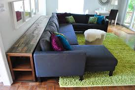 console table behind sofa diy behind sofa table sitez co