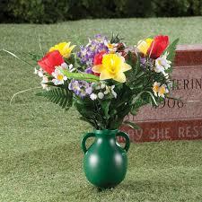 cemetery vase garden cemetery vase memorial vases plastic vases kimball