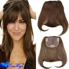 hair clip rambut human hair bangs 100 hair clip in bangs