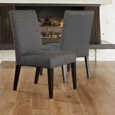 dining room amazing dark dining chairs fully cushioned seat and
