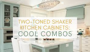 mix and match kitchen cabinet colors two toned shaker kitchen cabinets to mix and match for your