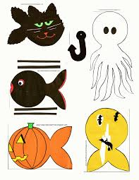 Today U0027s Fabulous Finds Printable Halloween Fishing Game