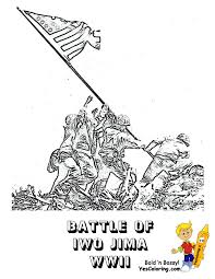 ww2 marine coloring pages coloring home