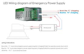 ce rohs led emergency power pack emergency lighting module