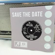 Save The Date Cards Vinyl Record Inspired Wedding Save The Date Cards U2013 Love Me Do Designs