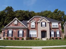 brick house exterior house paint ideas with brick