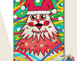 rocking robin christmas card xmas card robin card funny