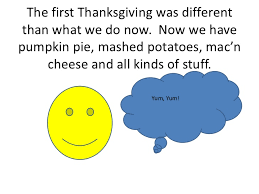 thanksgiving now and then by