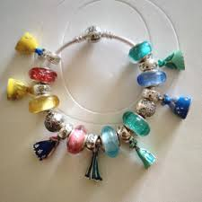 pandora make bracelet images Pandora jewelry disney princess bracelet 18 charms set poshmark jpg