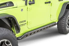 jeep rock sliders dv8 offroad srsotb 04 sr 4 rock sliders for 07 18 jeep wrangler
