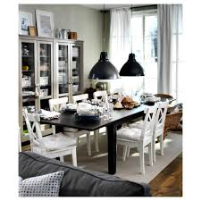 Black And White Dining Room Chairs by Stornäs Extendable Table Ikea