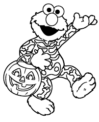 elmo halloween coloring pages kids coloring pages
