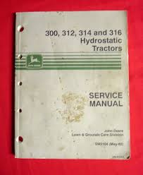 manuals and guides 42229 john deere sm2104 300 312 314 316