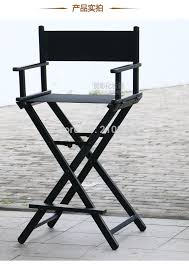 portable makeup chair with side table high aluminum frame makeup artist director chair foldable outdoor