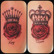 tattoo couple king and queen couple king and queen rose tattoos venice tattoo art designs