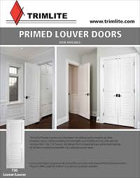 Exterior Wood Louvered Doors by Plantation Louvered Doors Trimlite