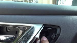 nissan rogue quarter panel how to remove door panel nissan altima 2013 and up youtube