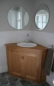 astonishing corner bathroom vanity ideas unit with door mirror