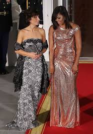 obama s state dinner dresses 13 gowns worth remembering