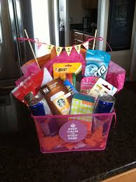 college grad gift to college gift basket study gift basket graduation gift