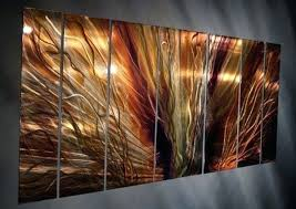 Metal Flower Wall Decor - wall art abstract metal wall sculpture uk large metal wall decor